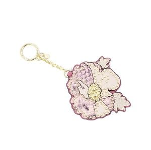 Michael Kors Spring Poppy Key Fob